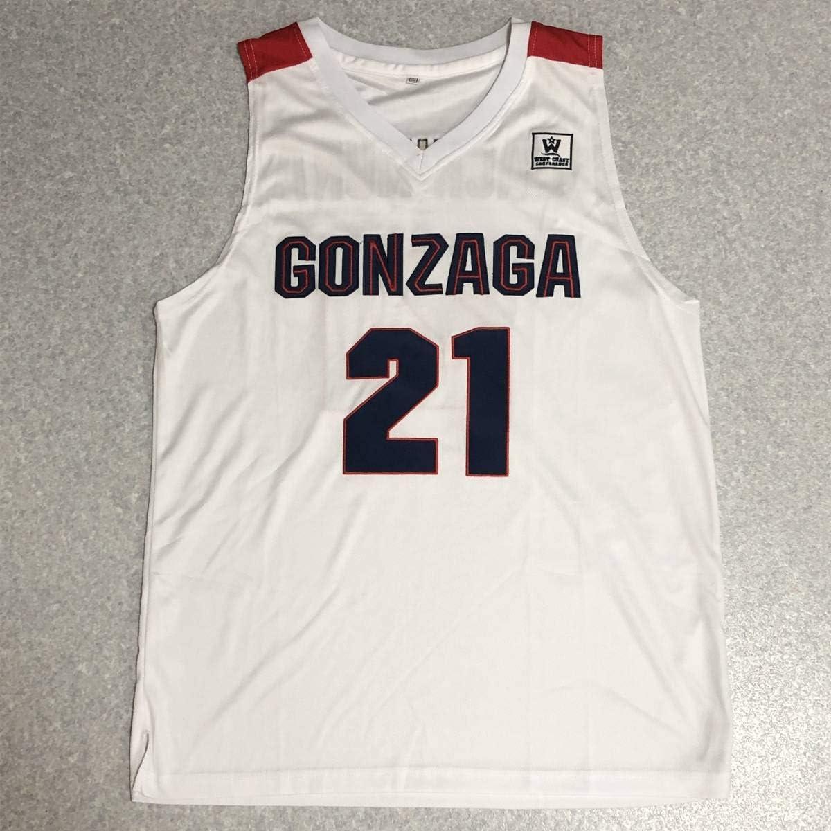 NBA ドラフト ゴンザガ大学 八村塁 #21 ユニフォーム ジャージ 日本代表