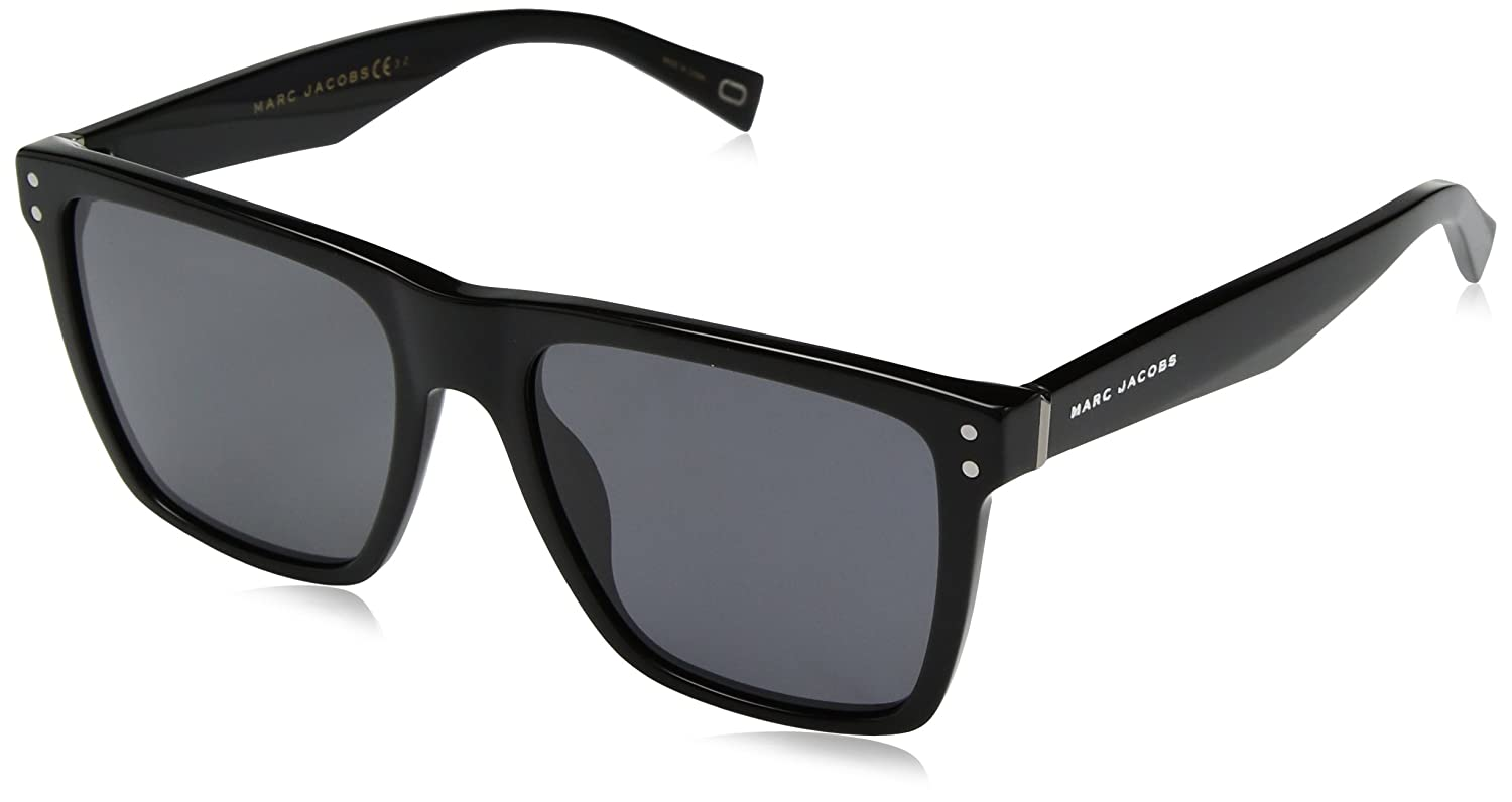 e3c174df8a Amazon.com  Marc Jacobs Men s Marc119s Polarized Rectangular Sunglasses