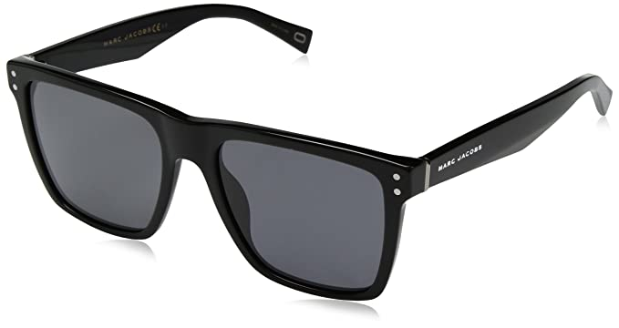 701dd6824634 Image Unavailable. Image not available for. Color  Marc Jacobs Men s  Marc119s Polarized Rectangular Sunglasses ...