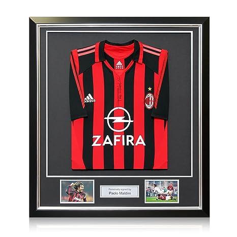 brand new 3be7c 431ad Maglia da casa delledizione del giocatore AC Milan 2005-06 firmata da Paolo
