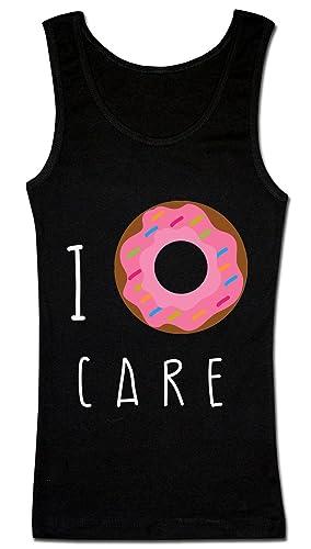 I Donut Care Camiseta sin mangas para mujer