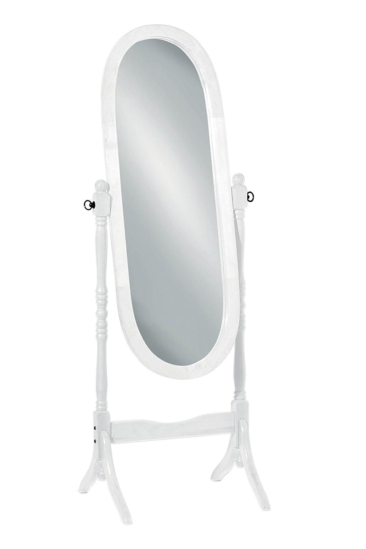 Premier Housewares Wooden Cheval Mirror - Mahogany 2400157