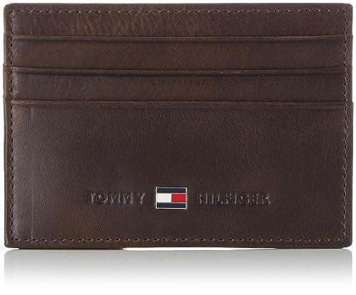 Tommy Hilfiger Johnson CC Holder, Tarjetero para Hombre, Brown 41, OneSize: Amazon.es: Zapatos y complementos