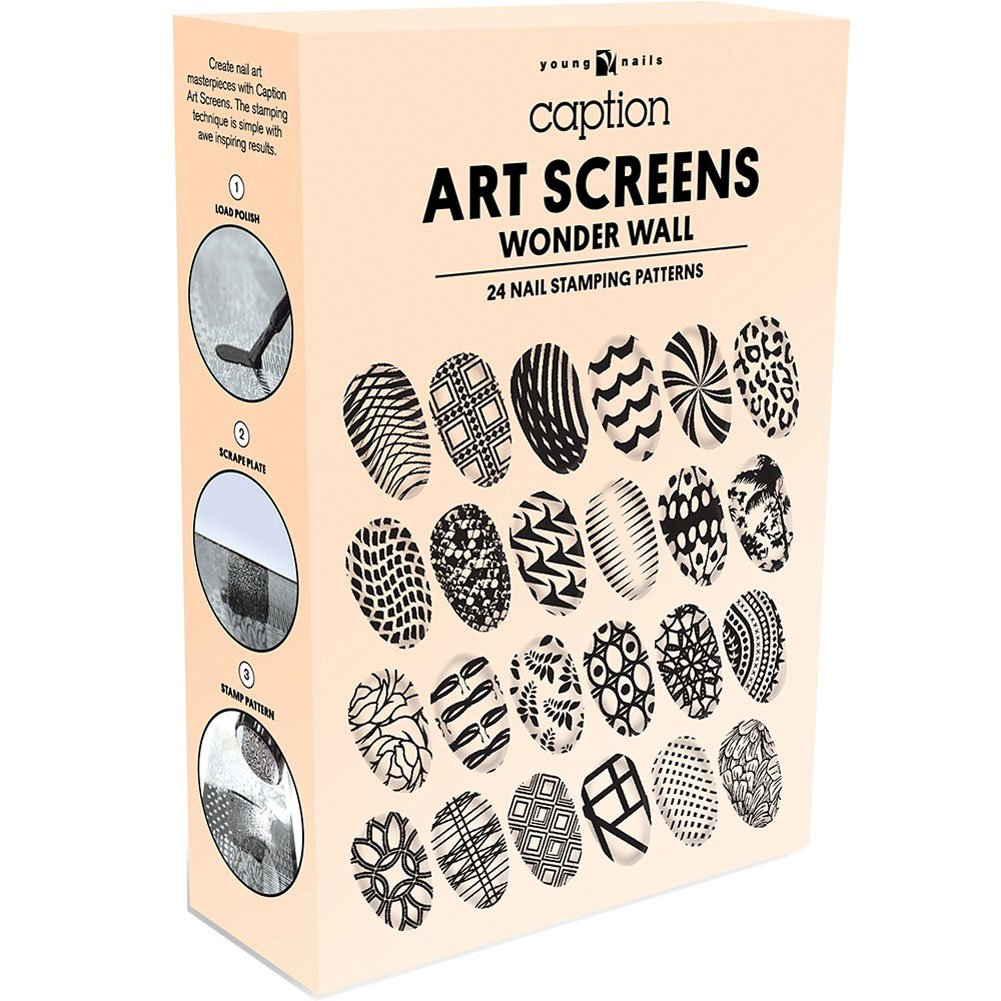 Amazon.com: Young Nails Art Screens, Off The Grid: Beauty