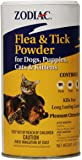 Zodiac Flea & Tick Powder for Dogs, Puppies, Cats, and Kittens,