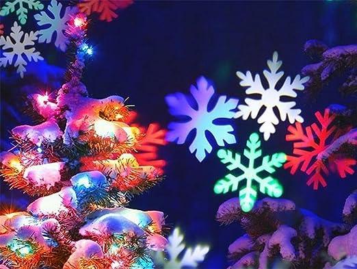 LUCKY Goddess Luces de proyector de Navidad Colores/Blancas de ...