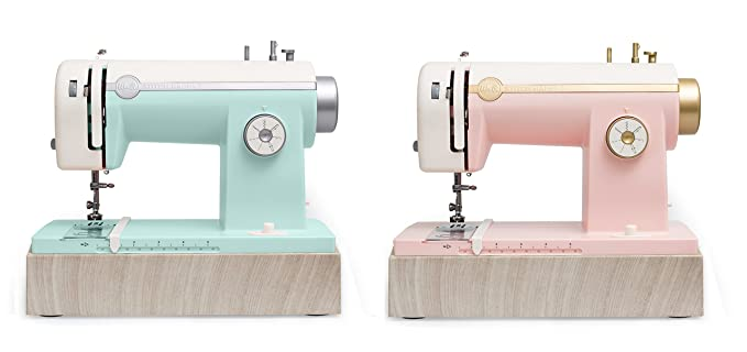 Amazon.com: American Crafts Stitch Happy Sewing Machine by We R Memory Keepers | Mint