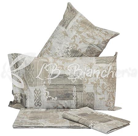 Sacco Copripiumino 250x220.R P Parure Copripiumino Sacco Chantal Prezioso Cotone Made In