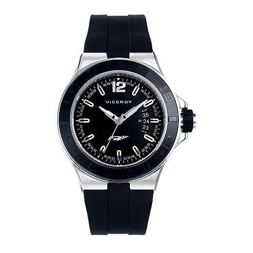 Reloj Viceroy Fernando Alonso 47773 - 55 Hombre Negro: Amazon.es: Relojes
