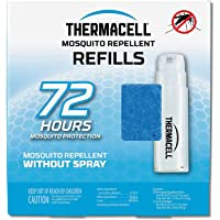 Thermacell Mosquito Repellent Refills, 12-Hour Pack; Contains 3 Repellent Mats, 1 Fuel Cartridge; Compatible with Any Fuel-Powered Thermacell Product; No Spray, Scent or Mess; 15 Ft Zone of Protection