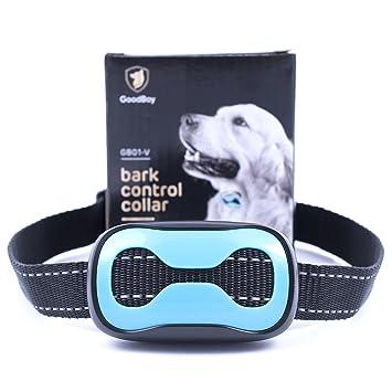 Collar Antiladridos para Perros Pequeños y Medianos de GoodBoy Collar de Adiestramiento con Vibración y Sistema