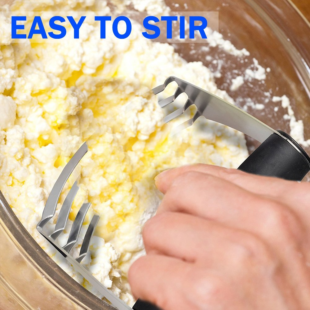 COSAY Pastry Cutter,Professional Stainless Steel Baking Dough Blender by COSAY (Image #3)