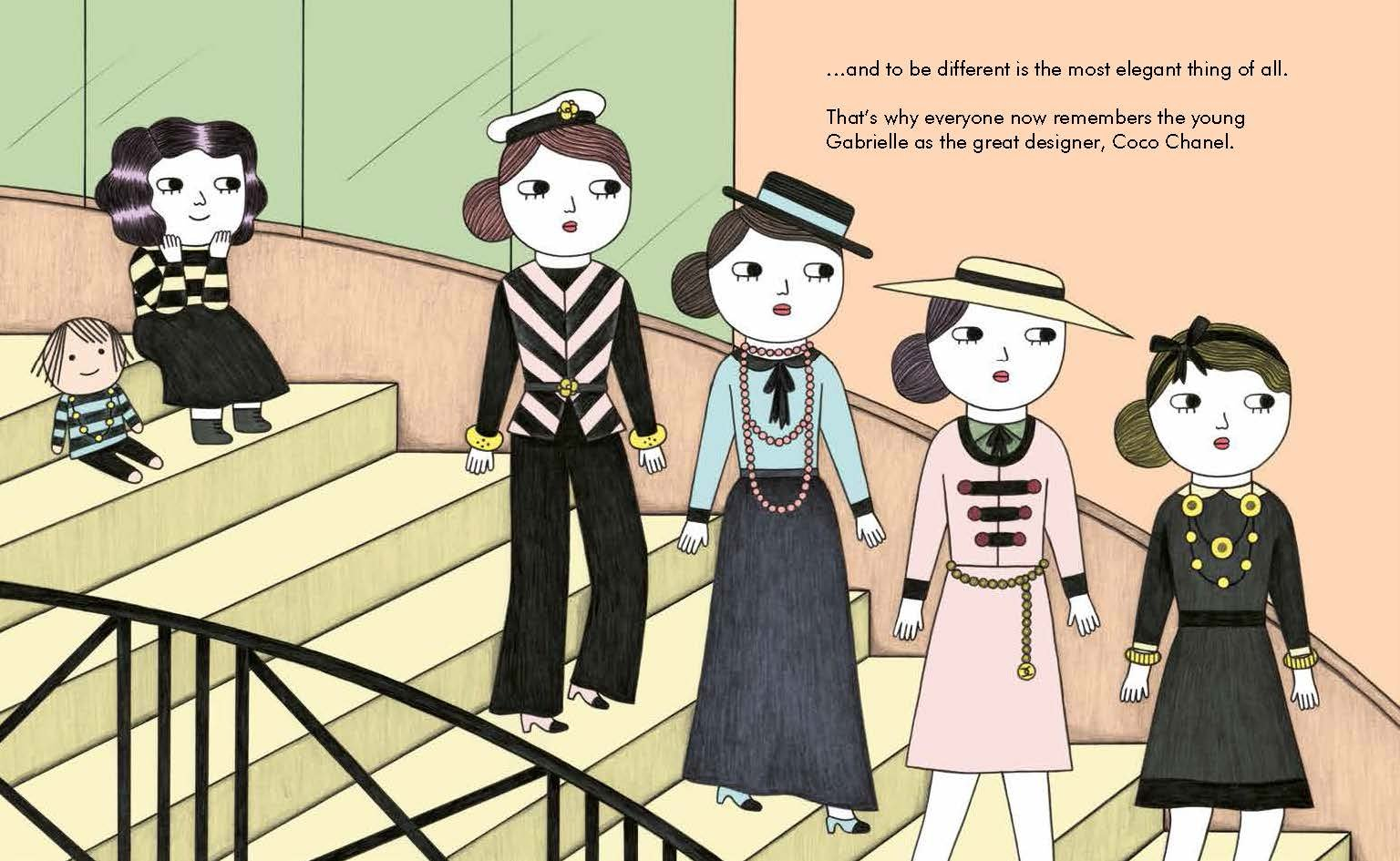 Coco Chanel (Little People, BIG DREAMS) by AMERICAN WEST BOOKS (Image #4)