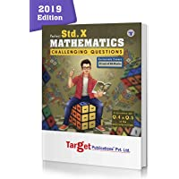 Std 10th Maths Challenging Questions Book | Chapterwise Important Questions with Solutions for Improved Practice | Based on SSC New Paper Pattern | English Medium | Maharashtra Board | Perfect Series