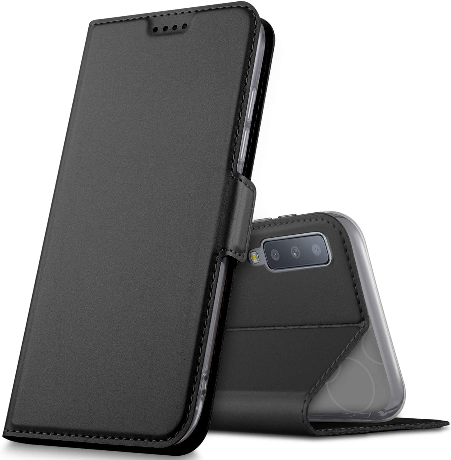 wallet cover samsung a7 2018