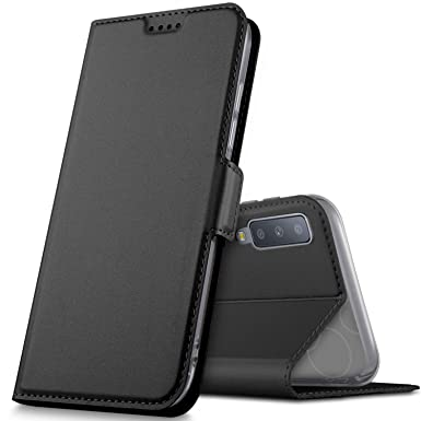 finest selection 9d160 b0eca Geemai For Samsung galaxy A7 2018 Case, [Card Holder] [Magnetic Closure]  Premium PU Leather Flip Wallet Case Cover Fit for Samsung galaxy A7 2018 ...