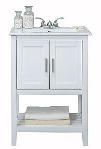 Legion Furniture WLF6020-W Sink Vanity