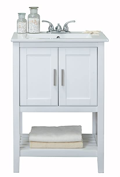 Legion Furniture Wlf6020 W Sink Vanity 24 White Vanity Sinks