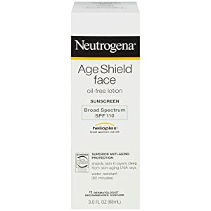 Neutrogena Age Shield Face Spf#110 Lotion 3oz (Oil-Free)