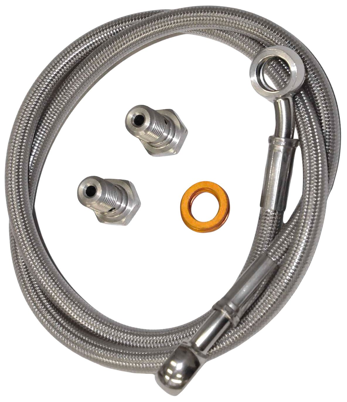 Yana Shiki MSR1149 Stainless Steel Rear Brake Line Kit for Ducati 900 Superlight II