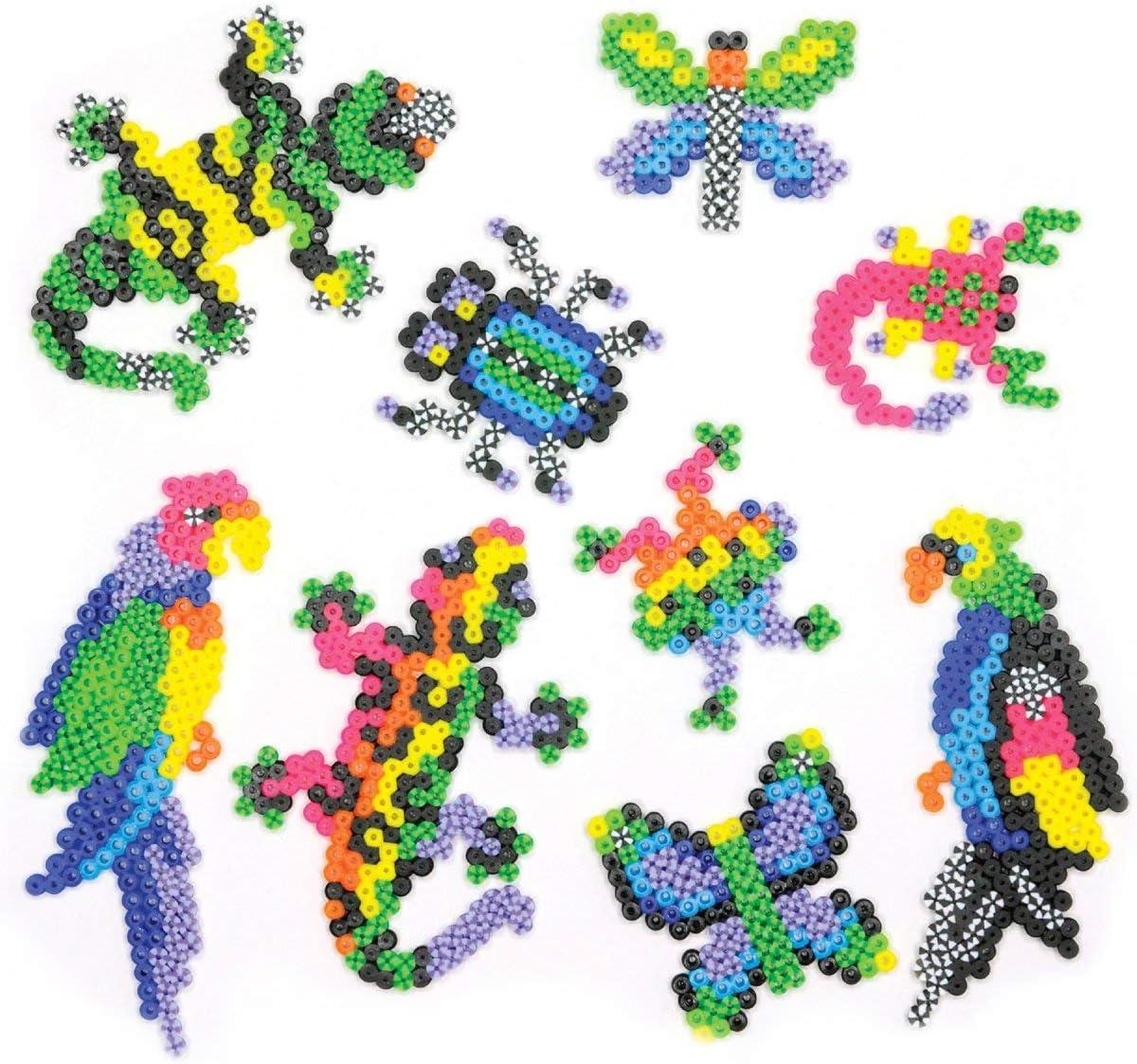 2005 pcs Perler Beads Rare Bugs and Birds Jungle Animal Craft Activity Kit