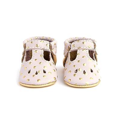 c54f9b524585 Amazon.com: Freshly Picked - Soft Sole Leather Mary Jane Moccasins ...