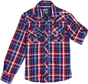 Staccato - Camisa - para niño 620 WASHED TINTE 12 años: Amazon.es: Ropa y accesorios