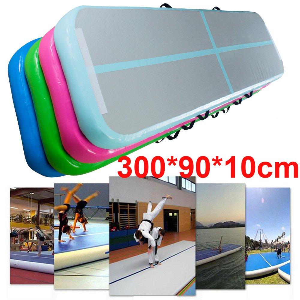 dodoing hinchable colchoneta de gimnasia (aire piso pista ...