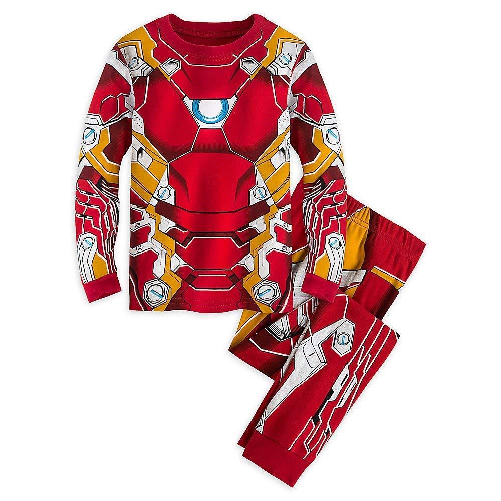 Disney Marvel Iron Man Costume PJ Pals Pajamas for Boys - Captain America: Civil War Size 7 449033018529