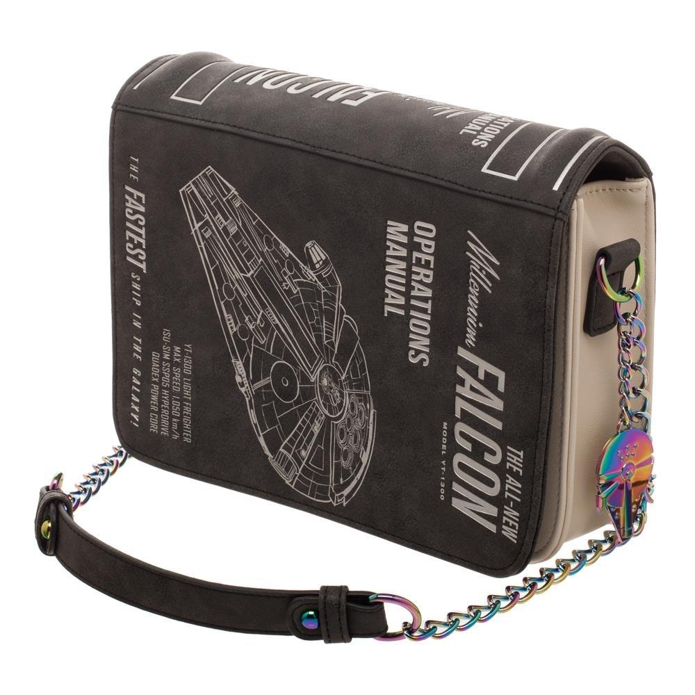 fa22aa2aa4 Amazon.com  Han Solo Millenium Falcon Operations Manual Bag