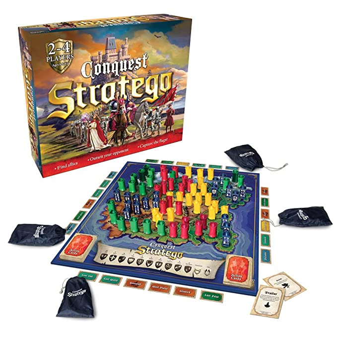 amazon com playmonster stratego conquest toys games