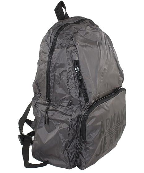 932063 Jeans Back Pieghevole Bag Borsa Zaino Armani Foldaway Pack 8dqz8O