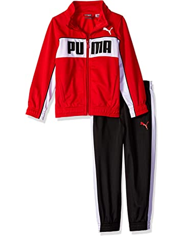 d3350530da4f PUMA Boys  Tricot Track Jacket and Pant Set