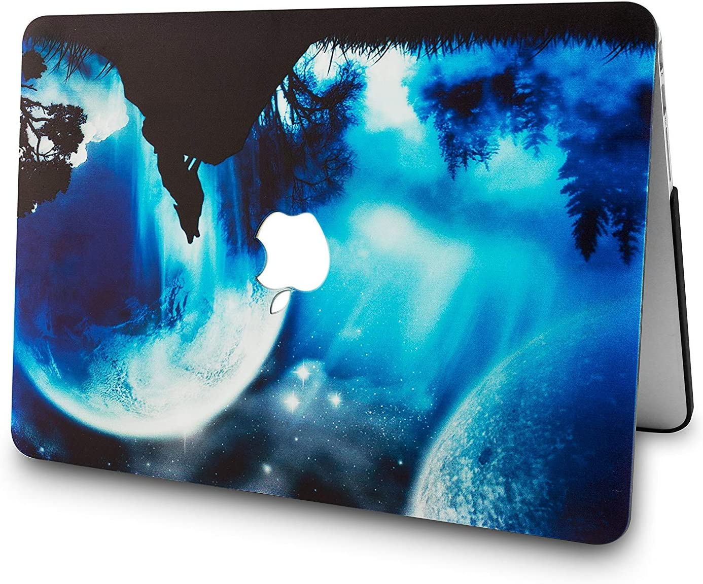 Blue 2 KBBHD MacBook Pro 15 inch Case 2018-2016 Release A1707//A1990 Plastic Shell Cover Keyboard Skin Cover Only Compatible MacBook Pro 15 with Touch Bar//Touch ID A1707//A1990