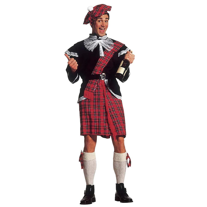 WIDMANN Widman - Disfraz de escoces para hombre, talla S (37571 ...