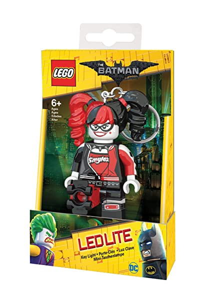 LEGO Batman Movie - Harley Quinn LED Key Chain Light