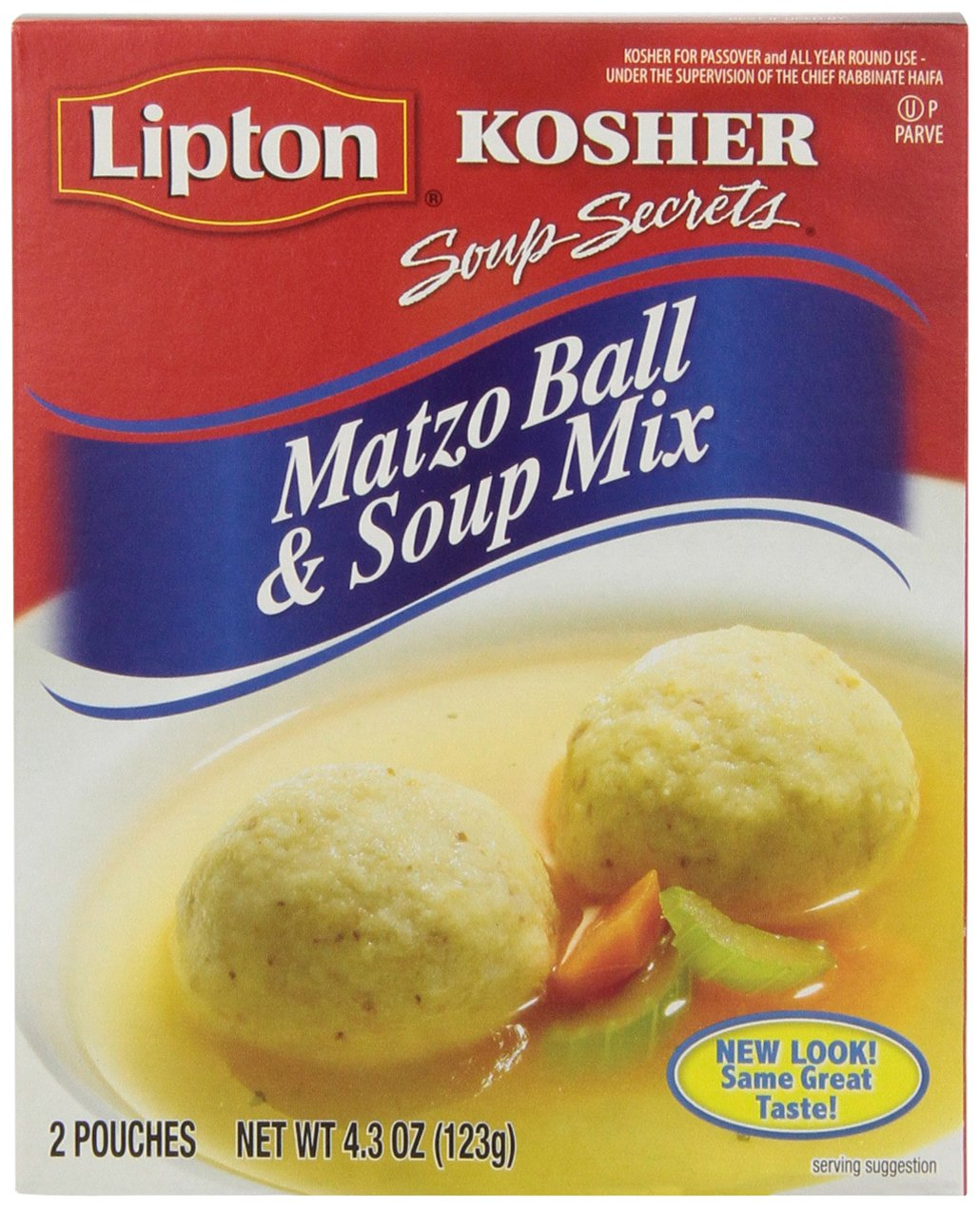 Lipton Secret Matzo Ball and Soup Mix, 4.3 Ounce (Pack of 12)