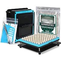 Wananfu - Capsule vulmachine 00 Bundel met 200 tellen gescheiden lege vegetarische capsules 00, inclusief gedetailleerde…