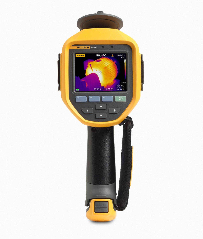 Fluke FLK-TI400 60HZ Industrial Thermal Infrared Camera with LaserSharp Auto Focus, IR-Fusion AutoBlend, Fluke Connect Wireless, 320x240 Resolution