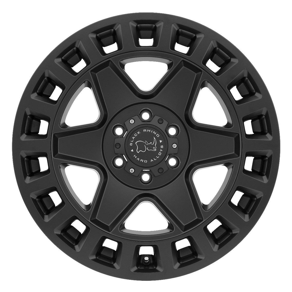 Black Rhino York 18X90 5//127 Et-12 Matte Black