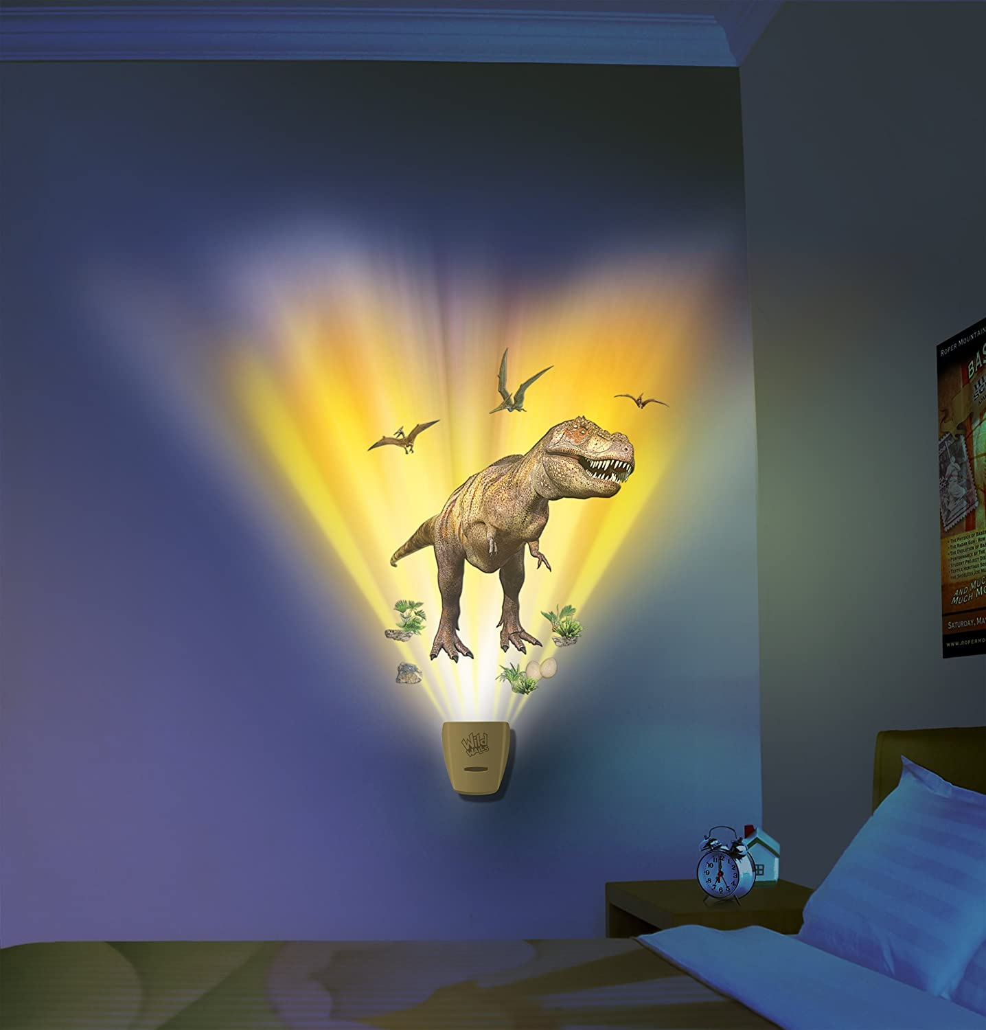 Amazon.com: In My Room Wild Walls Dinosaur Expedition Wall Decal ...