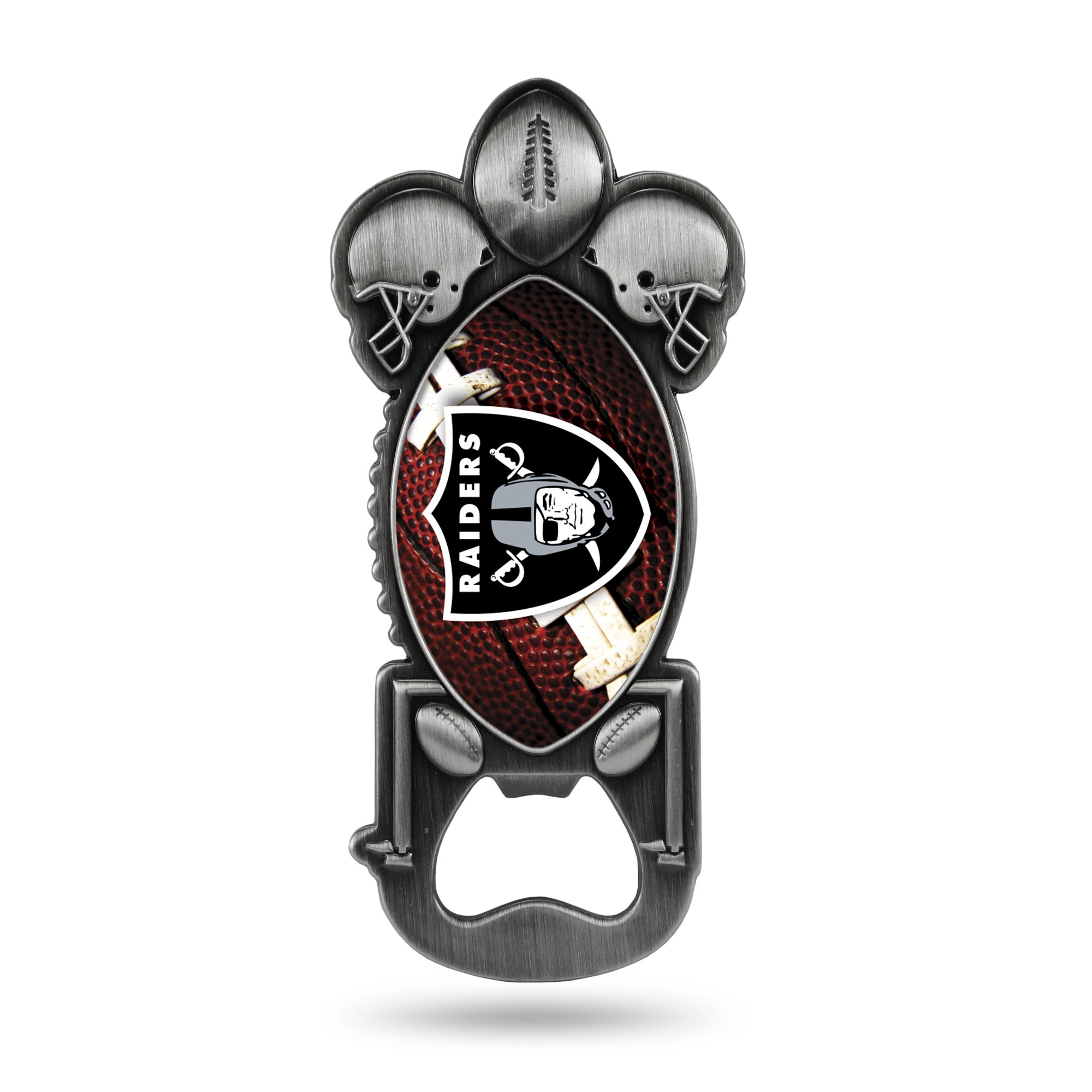 NFL Oakland Raiders Magnetic Metal Bottle Opener Party Starter