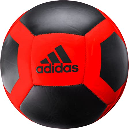 adidas Performance Glider II Soccer Ball, Core Black/Solar Red, Size 5