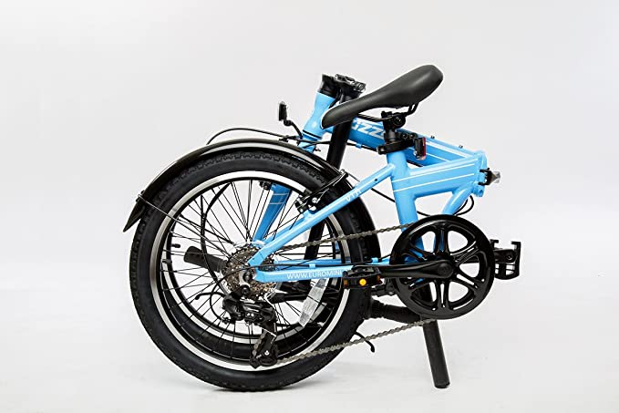 Best Budget Folding Bike: EuroMini ZiZZO Via 27lb Folding Bike