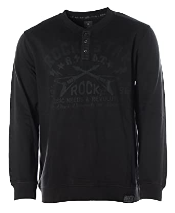 Kitaro Herren Sweatshirt Sweater Rundhals