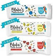 Blake's Seed Based Variety Pack Seed and Fruit Bars, Allergy Friendly, Nut Free, Gluten Free, Vegan 1.23oz (9 Bars)