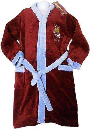 Boys West Ham Dressing Gown 3 4 Years Amazoncouk Clothing