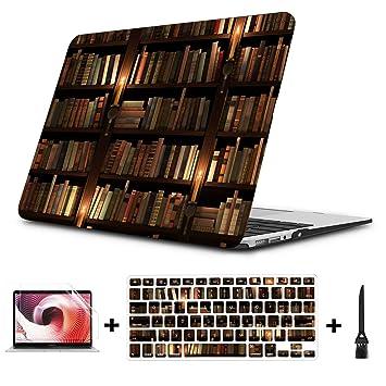Textura de estantería Mysterious Library Macbook Air/Pro 11 ...