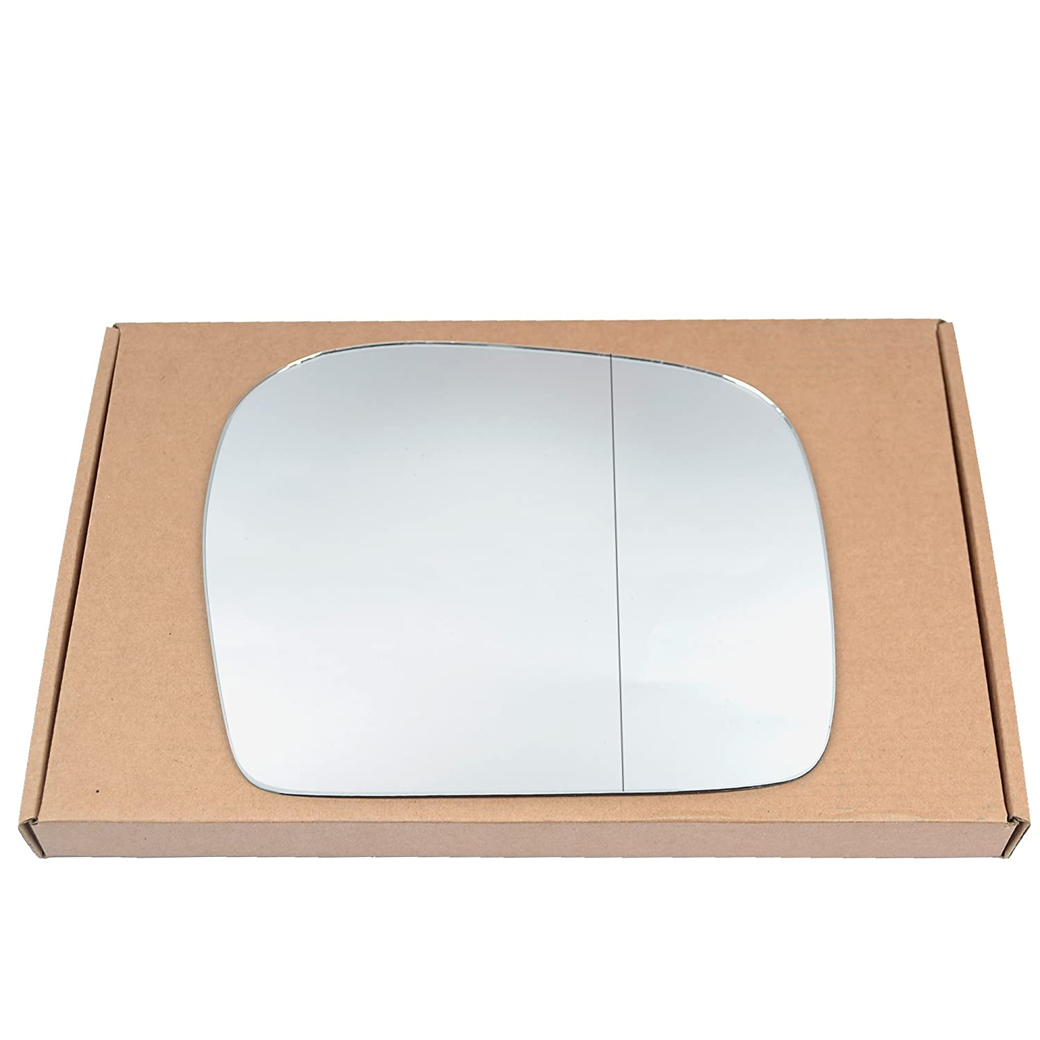 Wide Angle Right driver side Silver Wing mirror glass # ToHil//m11-1905954//590