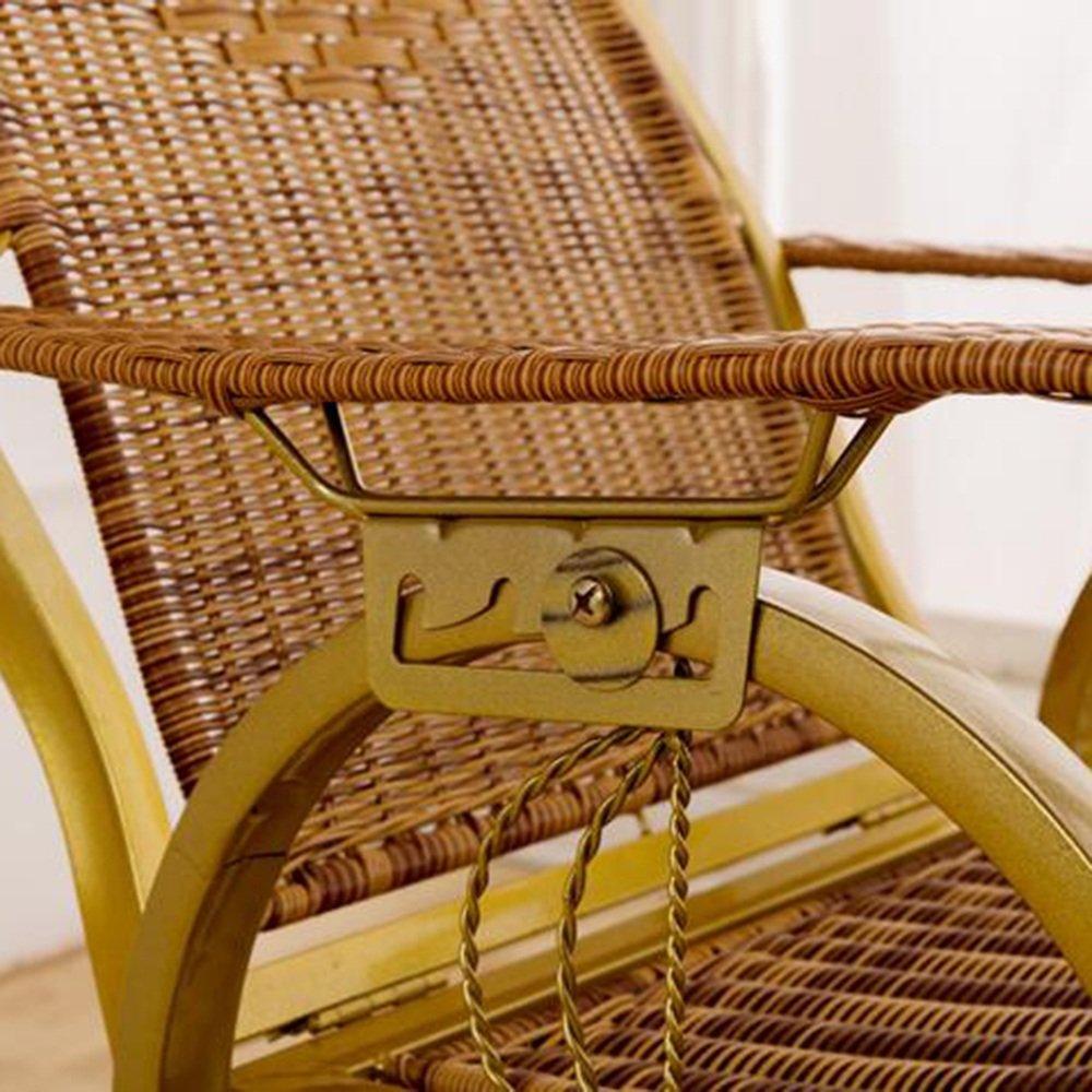 Amazon.com: ZR- Elderly Chair Fall Prevention Rocking Chair ...